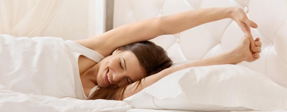 ćwiczenia przed snem