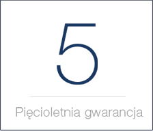 5 lat gwarancji sensit